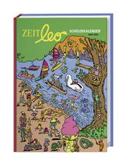 ZEIT leo Schülerkalender A5 Kalender 2020/2021 - Cover