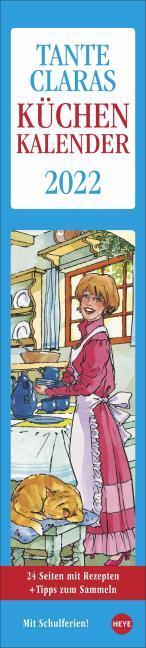 Tante Claras Küchenkalender 2022