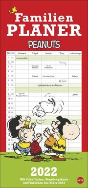 Peanuts Familienplaner 2022