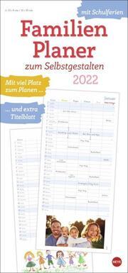 Familienplaner zum Selbstgestalten Kalender 2022