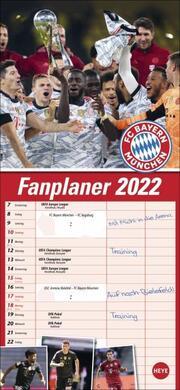 FC Bayern München Fanplaner 2022