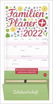 Familienplaner plus Tasche 2022