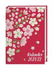 Floral 17-Monats-Kalenderbuch A5 2021/2022