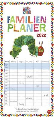Die kleine Raupe Nimmersatt Familienplaner 2022