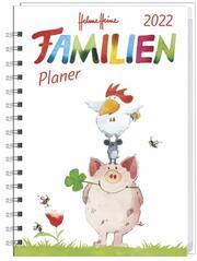 Helme Heine Familienplaner-Buch A6 2022