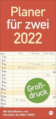 Planer für zwei 2022