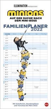 Minions Familienplaner 2022
