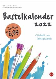 Bastelkalender weiß A4 2022
