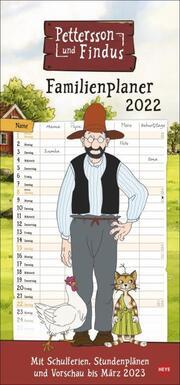 Pettersson und Findus Familienplaner 2022