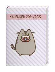 Pusheen 17-Monats-Kalenderbuch A5 2021/2022