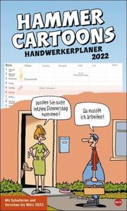 Hammer Cartoons Handwerkerplaner 2022