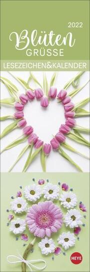 Blütengrüße Lesezeichen & Kalender 2022
