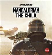 Star Wars 'The Mandalorian - The Child' Postkartenkalender 2022