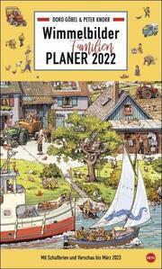 Wimmelbilder Familienplaner XL 2022