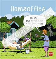 Homeoffice Postkartenkalender 2022