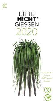 Bitte nicht giessen 2020 - Cover