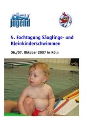 5. Fachtagung Säuglings- und Kleinkinderschwimmen