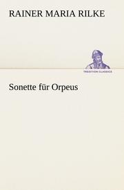 Sonette für Orpeus
