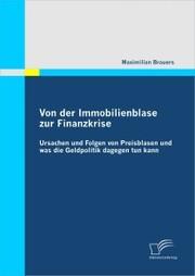 Von der Immobilienblase zur Finanzkrise: Ursachen und Folgen von Preisblasen und was die Geldpolitik dagegen tun kann