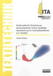 Systematische Entwicklung sensorbasierter Online-Qualitätsüberwachung für Schweißverfahren von Textilien