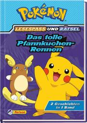 Pokémon: Das tolle Pfannkuchen-Rennen - 2 Geschichten in 1 Band