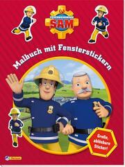 Feuerwehrmann Sam: Malbuch mit Fensterstickern