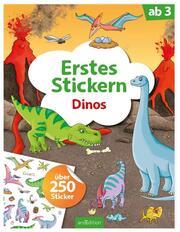 Erstes Stickern - Dinos