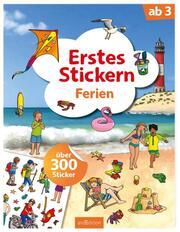 Erstes Stickern - Ferien - Cover