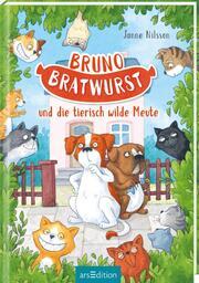 Bruno Bratwurst und die tierisch wilde Meute - Cover