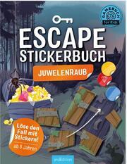 Escape-Stickerbuch - Juwelenraub