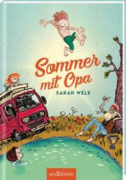 Sommer mit Opa - Cover