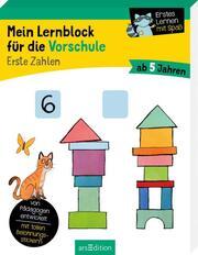Mein Lernblock für die Vorschule - Erste Zahlen - Cover