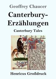 Canterbury-Erzählungen (Großdruck)