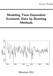 Modeling Time-Dependent Economic Data by Boosting Methods