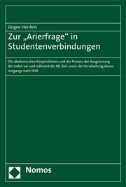 Zur 'Arierfrage' in Studentenverbindungen