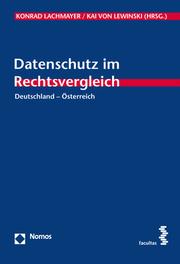 Datenschutz im Rechtsvergleich