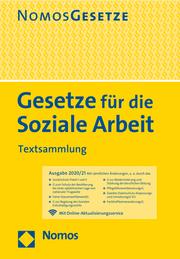 Gesetze für die Soziale Arbeit - Cover