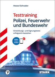 STARK Testtraining Polizei, Feuerwehr und Bundeswehr