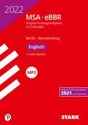 STARK Original-Prüfungen MSA/eBBR 2022 - Englisch - Berlin/Brandenburg - Cover