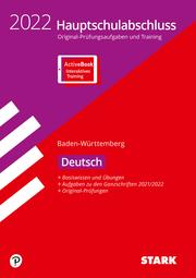 STARK Original-Prüfungen und Training Hauptschulabschluss 2022 - Deutsch 9. Klasse - BaWü