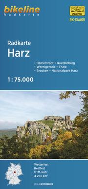 Radkarte Harz (RK-SAA05)