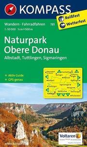 KOMPASS Wanderkarte Naturpark Obere Donau - Albstadt - Tuttlingen - Sigmaringen