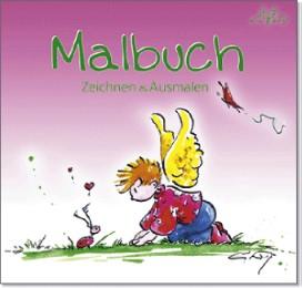 Engelkinder Malbuch