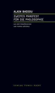 Zweites Manifest für die Philosophie