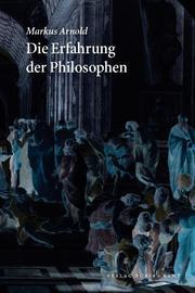 Die Erfahrung der Philosophen