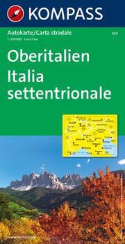 Oberitalien, Italia settentrionale, Northern Italy, Italie du Nord