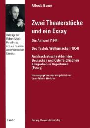 Zwei Theaterstücke und ein Essay