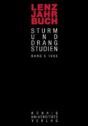 Lenz-Jahrbuch 1995