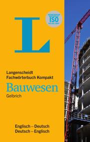Langenscheidt Fachwörterbuch Kompakt Bauwesen Englisch