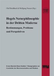 Hegels Naturphilosophie in der Dritten Moderne
